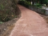 new path from church road