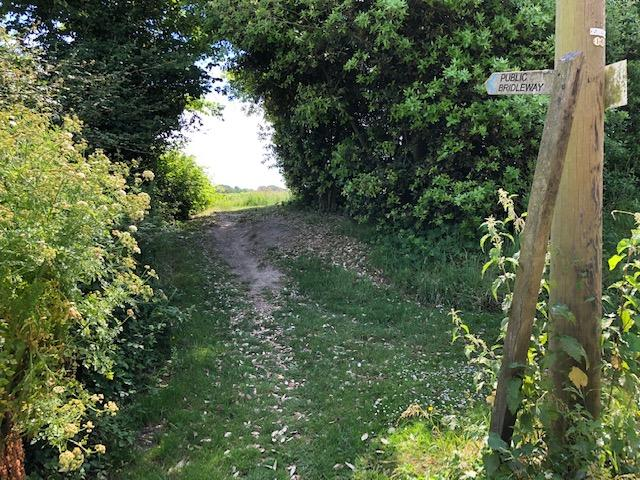 bridleway from bramber